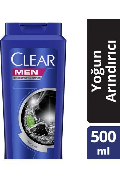 Clear Kömür Etkisi İle Yoğun Arındırıcı Şampuan