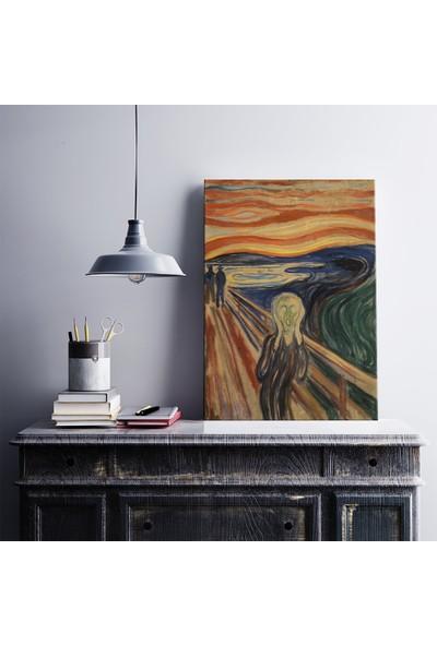 Kanvas Tablo Market Edvard Munch Çığlık Kanvas Tablo