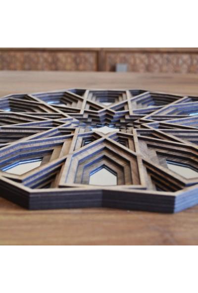 Desen Sanat Özel Tasarım Aynalı Selçuklu Yıldızı