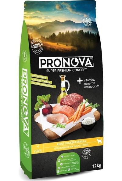 Pronova Düşük Tahıllı Tavuklu Yetişkin Kedi Maması 12 Kg