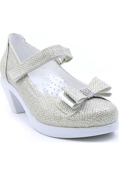 Varkan Topuklu Kız Ayakkabı