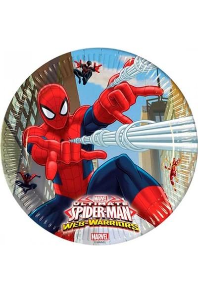 Partifabrik Spiderman Karton Tabak 8 li