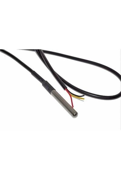 Bakay Ds18B20 Su Geçirmez Sıcaklık Prob Sensörü - Arduino-Poer Led - Hd