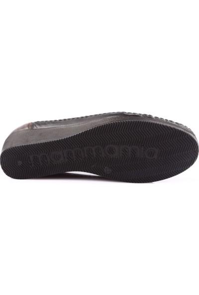 Mamma Mia D19Ya-265 Kadın Günlük Ayakkabı Siyah - Kahverengi