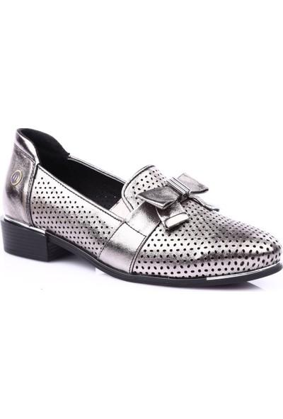 Mamma Mia D19Ya-290 Kadın Günlük Ayakkabı Platin