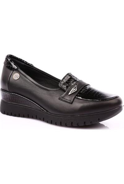 Mamma Mia D19Ya-3050 Kadın Günlük Ayakkabı Siyah