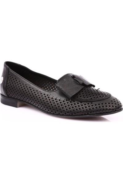 Mamma Mia D19Ya-4285 Kadın Günlük Ayakkabı Siyah Faber