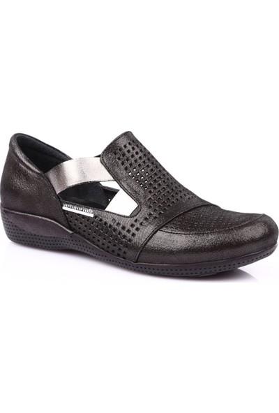 Mamma Mia D19Ya-800 Kadın Günlük Ayakkabı Siyah Ays