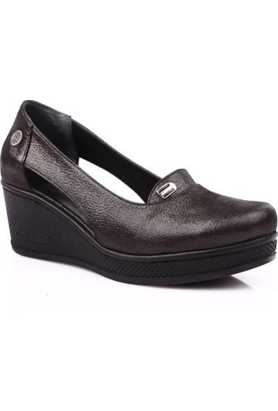 Mamma Mia D19Ya-810 Kadın Günlük Ayakkabı Siyah Ays