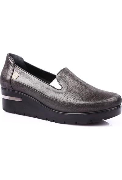 Mamma Mia D19Ya-845 Kadın Günlük Ayakkabı Siyah Ays