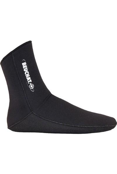 Beuchat Standart Çorap 4 Mm Siyah