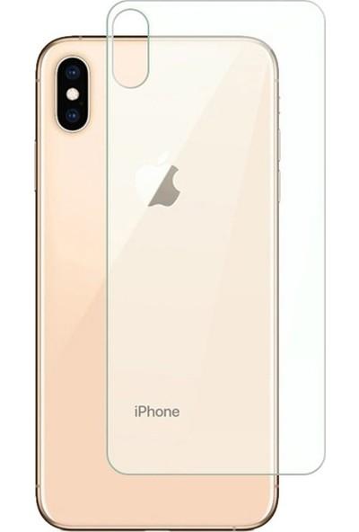 Microcase iPhone XS Max Ön - Arka Kaplama Set Tempered Glass Cam Koruma - Şeffaf