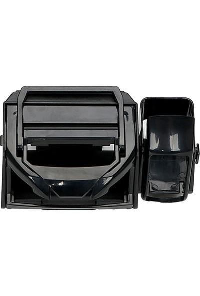Microcase Araç İçi 3in1 Tutucu Model BT2 - Siyah