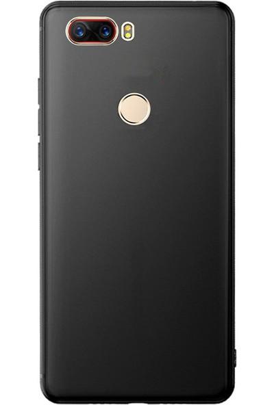 Microcase ZTE Nubia Z17 Elektrocase Serisi Silikon TPU Kılıf - Siyah