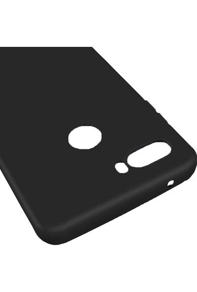 Microcase ZTE Nubia Z18 Mini Matte Serisi Silikon TPU Kılıf - Siyah