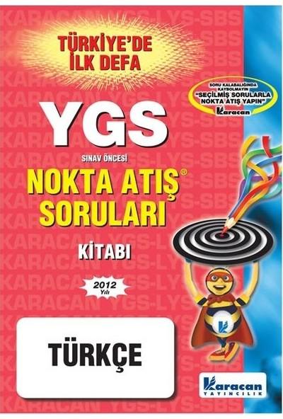 Ygs Türkçe Nokta Atış Karacan Yayınları