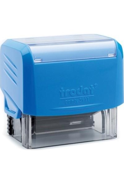 Trodat Elektronik İmzalı Kaşe- Mavi