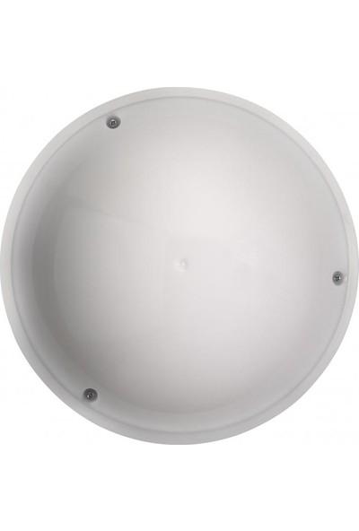 Horoz Aqua Dolunay Aplik Led+ Sensörlü Beyaz Kasa-12W 2700 Günışığı IşıkOpal 360 Derece Microsensor-Anti Shock-Waterproof