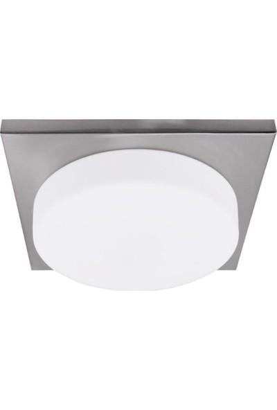 Oktay Aydınlatma Senon 1Xe27 Duylu 7630 Model Beyaz Renk Tavan Armatürü