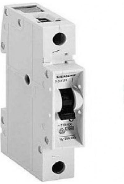 Sıemens N System Anahtarlı Otomatik Sigorta Monofaze 1X40 Amper B Tipi Otomat