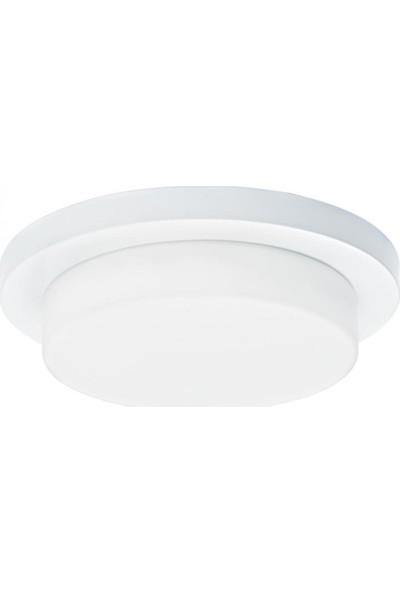 Oktay Aydınlatma Tigra 9630-1 Krom Renk 6500K Beyaz Işık 1200 Lm 15W Power Led Duvar Armatürü