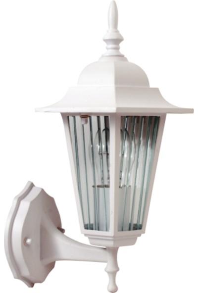 Sensa Marka Klasik Altıgen Alüminyum Enjeksiyon Döküm Beyaz Renk Aplik ,