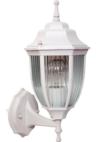 Sensa Marka Bombeli Altıgen Alüminyum Enjeksiyon Döküm Beyaz Renk Aplik ,