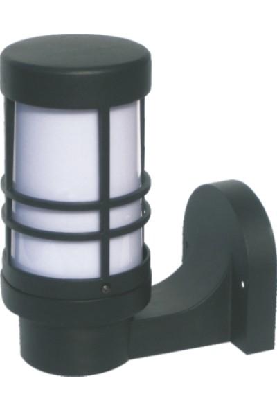 Sensa Marka Fener Model Alüminyum Enjeksiyon Döküm Aplik, Siyah Renk