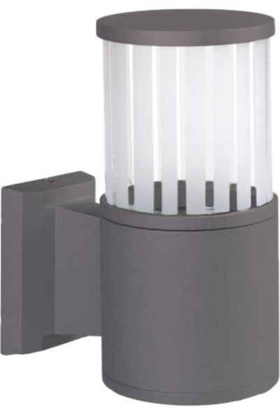 Sensa Marka Fıçı Model Alüminyum Enjeksiyon Döküm Aplik , Milenyum Gri Renk