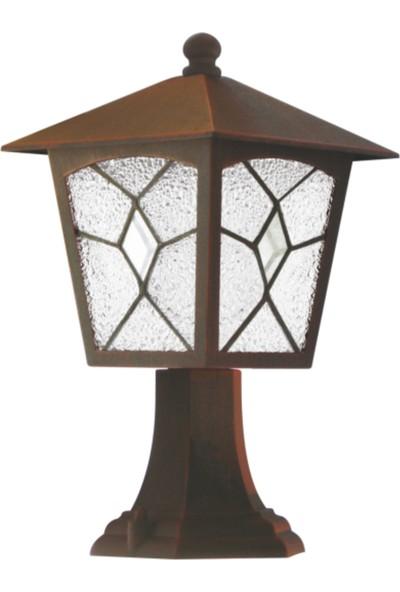 Sensa Marka Tiffany Set Üstü Model Alüminyum Enjeksiyon Döküm Fener , Antik Bronz Renk