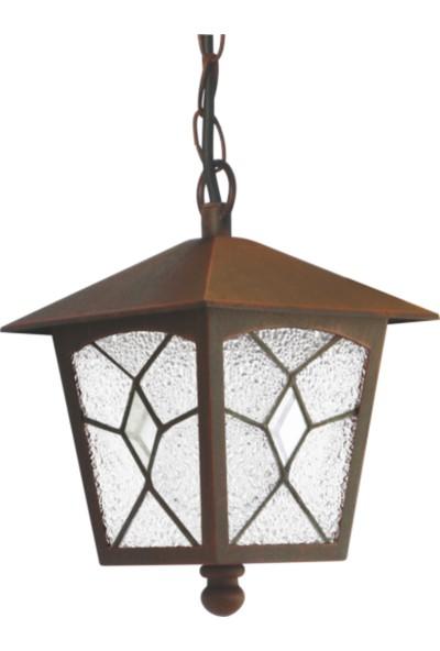 Sensa Marka Tiffany Zincirli Model Alüminyum Enjeksiyon Döküm Avize , Antik Bronz Renk