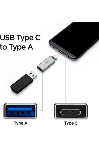 Spigen Essential CA300 USB-C to USB Giriş Dönüştürücü OTG Adaptör - 000CA25553