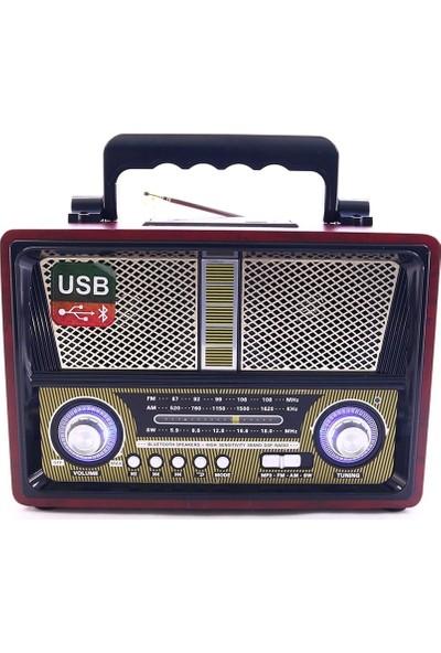 Kemai Smart Sepet MD-1802BT Bluetooth Usb Sd Fm Nostaljik Görünümlü Radyo