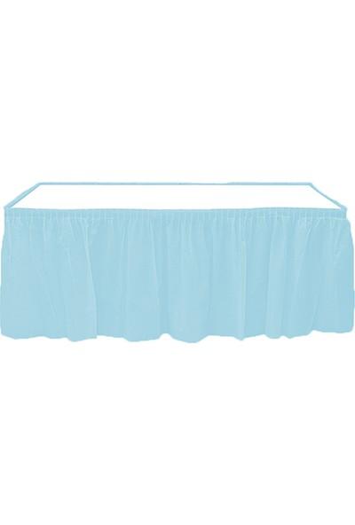 Roll-Up Mavi Masa Eteği (75 X 4.26 cm)