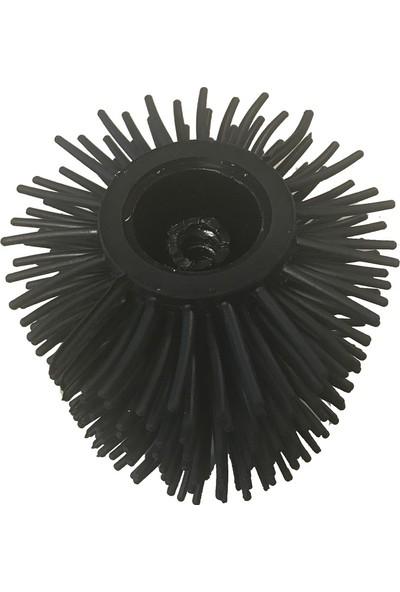 Primanovaø85 Mm Yedek Silikon Wc Fırça, Siyah
