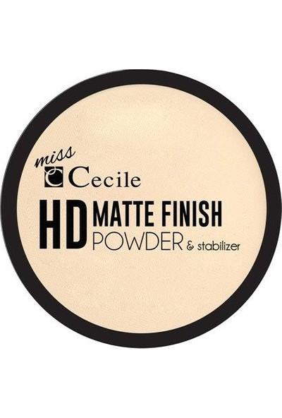 Cecile Miss Hd Matte Finish Powder Stabilizer No Hd 03