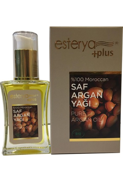 Esterya Plus Saf Argan Yağı (Pure Argan Oil) 30 ml 2 Adet