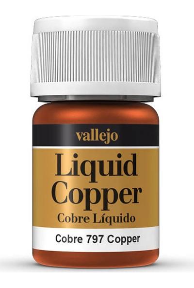 Vallejo 70797 Liquid Copper Maket Boyası