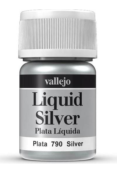 Vallejo 70790 Liquid Silver Maket Boyası