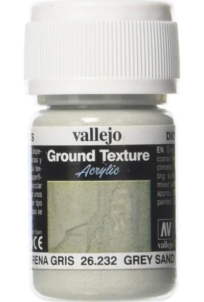 Vallejo Ground Texture Grey Sand 26.232 30 Ml