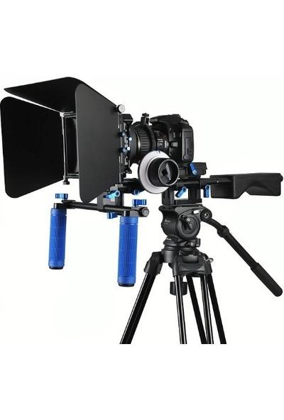 Dslr Film Seti Rig Rl-04 + Followfoucs F3 + Mattebox M3