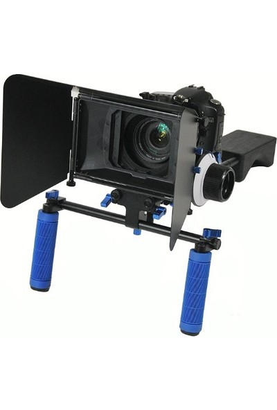 Dslr Film Seti Rig Rl-04 + Followfoucs F3 + Mattebox M3