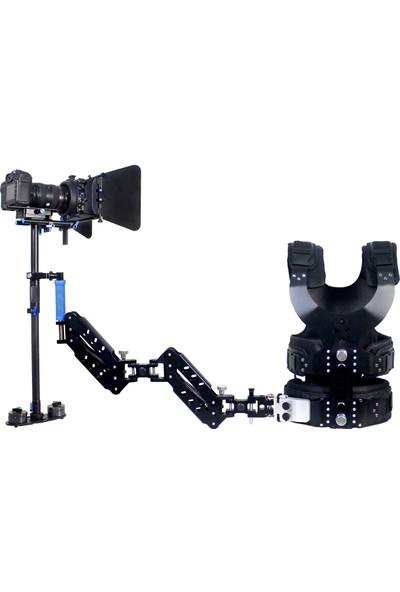 Stabilizer Set, Vest & Arm Iı + Steadicam S-120 + Mattebox M2