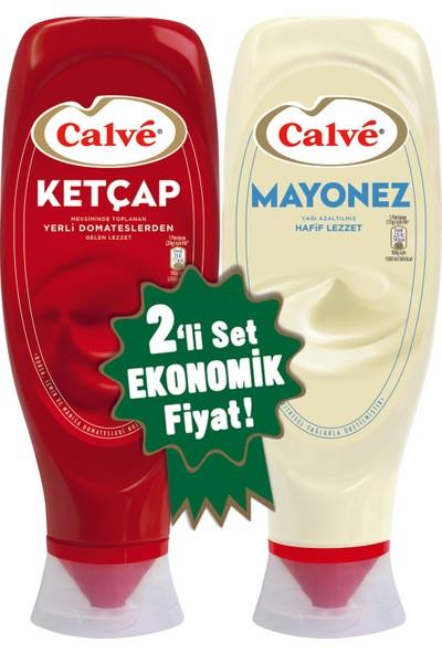 Calve Ketçap + Mayonez 2'li Set 1140 gram