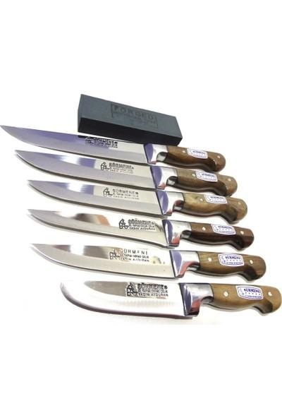 Sürmene Bilezikli Soğuk Mühür Mutfak Bıçak Seti 6'lı