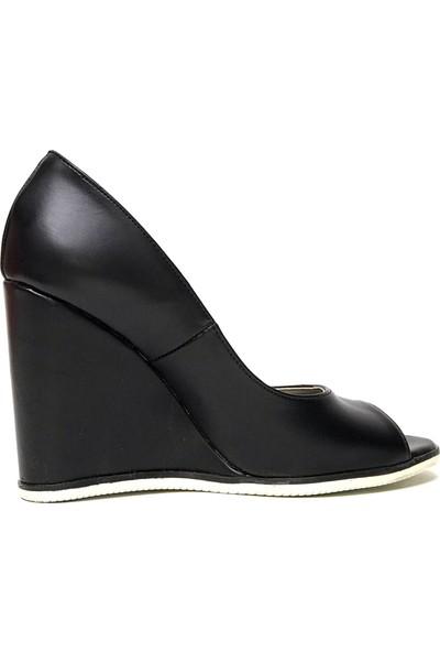 Tarçın 5005-16 Feta Günlük Kadın Dolgu Ayakkabı