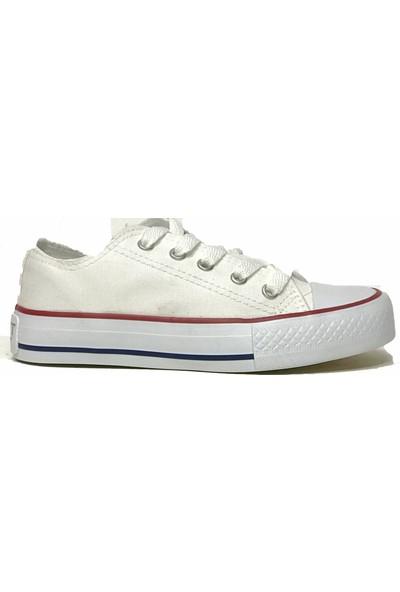 Tarçın Trc11 Keten Günlük Çocuk Keten Spor Ayakkabı