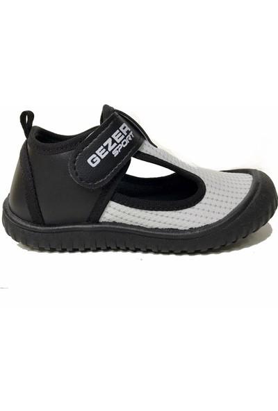 Gezer Trc22-2887 Günlük Çocuk Streç Cırtlı Spor Ayakkabı-Kreş Havuz Deniz