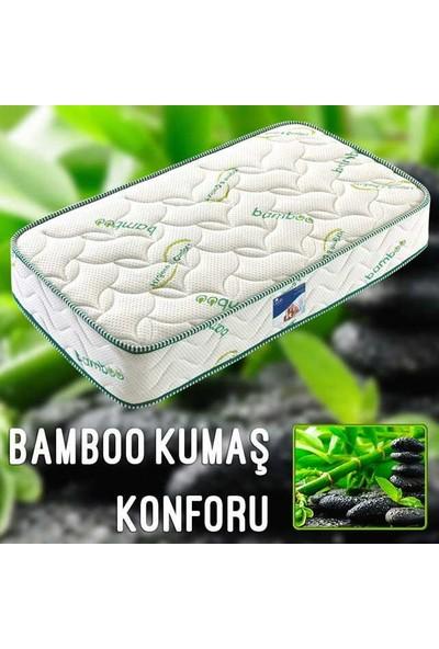 Midilife Bamboo Visco Yatak - Tek Kişilik Visco Yatak 90x190 Cm