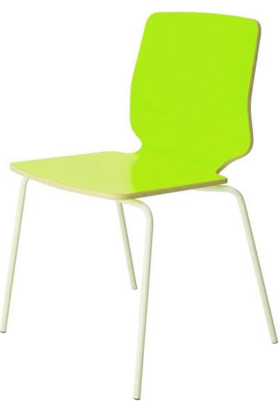 Boo Sprit Metal Ayaklı Sandalye